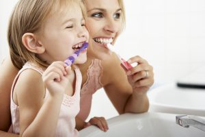 Your children's dentist in 97124 recommends using a reward system for positive reinforcement.